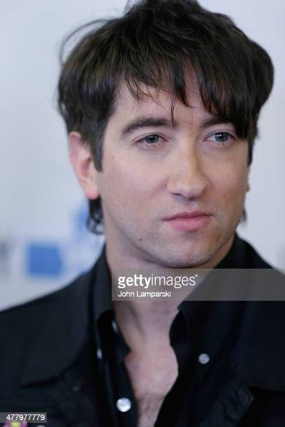 Tom Higgenson of Plain White T's attends the Pinoy Relief Benefit concert at Madison Square Garden on March 11, 2014 in New York City.