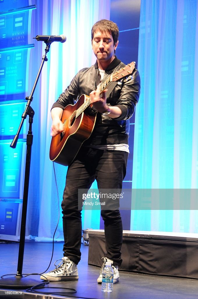 Tom Higgenson performs at the 8th Annual Human Rights Campaign Dinner Gala at the Aria Resort & Casino on May 18, 2013 in Las Vegas, Nevada.