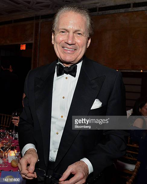 J Tom Hill vice chairman of Blackstone Group LP stands for a photograph at the Municipal Art Society Gala in New York US on Thursday April 19 2012...