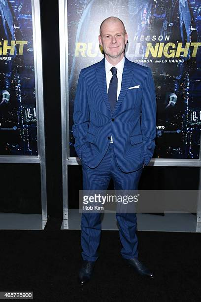 Tom Holkenborg attends Run All Night New York premiere at AMC Lincoln Square Theater on March 9 2015 in New York City