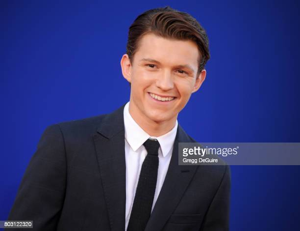 Tom Holland arrives at the premiere of Columbia Pictures' SpiderMan Homecoming at TCL Chinese Theatre on June 28 2017 in Hollywood California