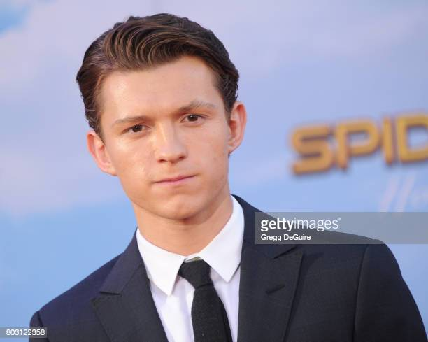 Tom Holland arrives at the premiere of Columbia Pictures' 'SpiderMan Homecoming' at TCL Chinese Theatre on June 28 2017 in Hollywood California