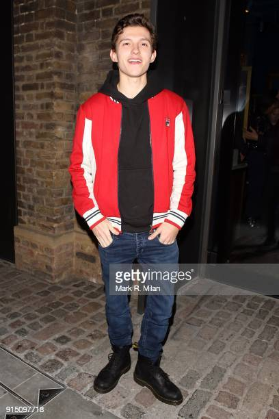 Tom Holland attending the InStyle EE Rising Star Party Ahead Of The EE BAFTAs At The Granary Square Brasserie on February 6 2018 in London England