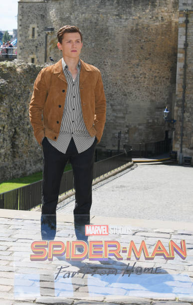 """GBR: """"Spider-Man: Far From Home"""" Photocall At The Tower Of London"""