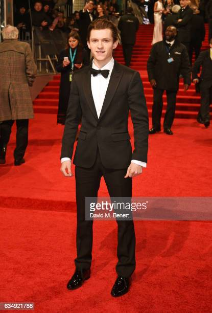 Tom Holland attends the 70th EE British Academy Film Awards at Royal Albert Hall on February 12 2017 in London England