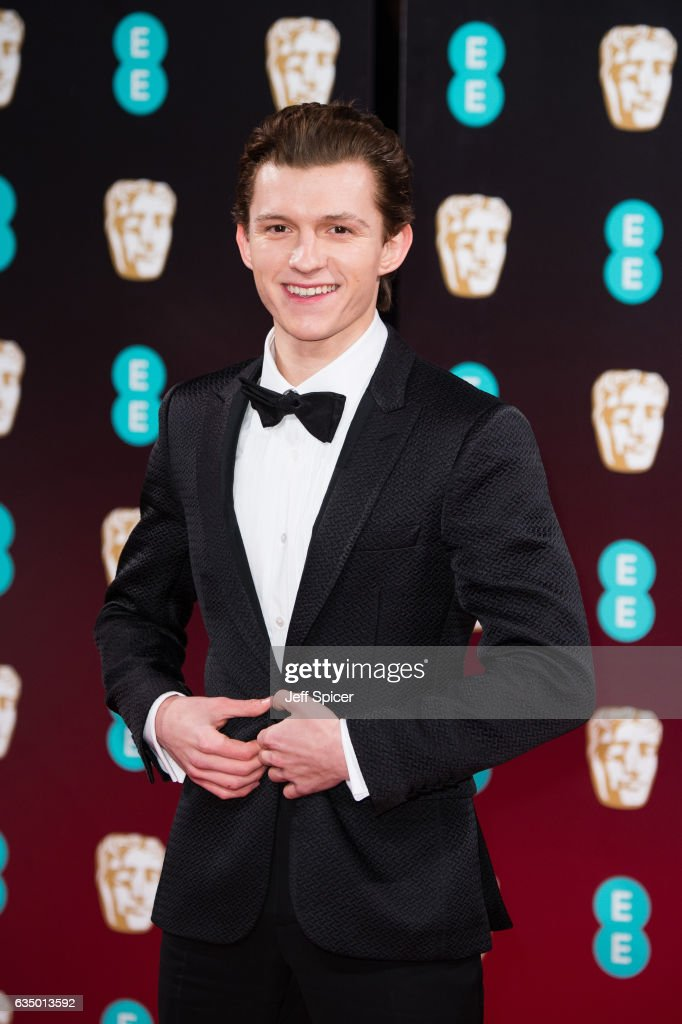 Tom Holland attends the 70th EE British Academy Film Awards (BAFTA) at Royal Albert Hall on February 12, 2017 in London, England.