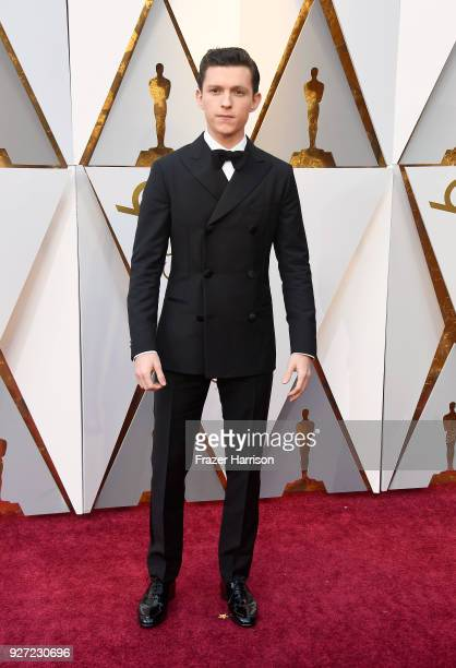 Tom Holland attends the 90th Annual Academy Awards at Hollywood & Highland Center on March 4, 2018 in Hollywood, California.