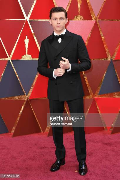 Tom Holland attends the 90th Annual Academy Awards at Hollywood Highland Center on March 4 2018 in Hollywood California