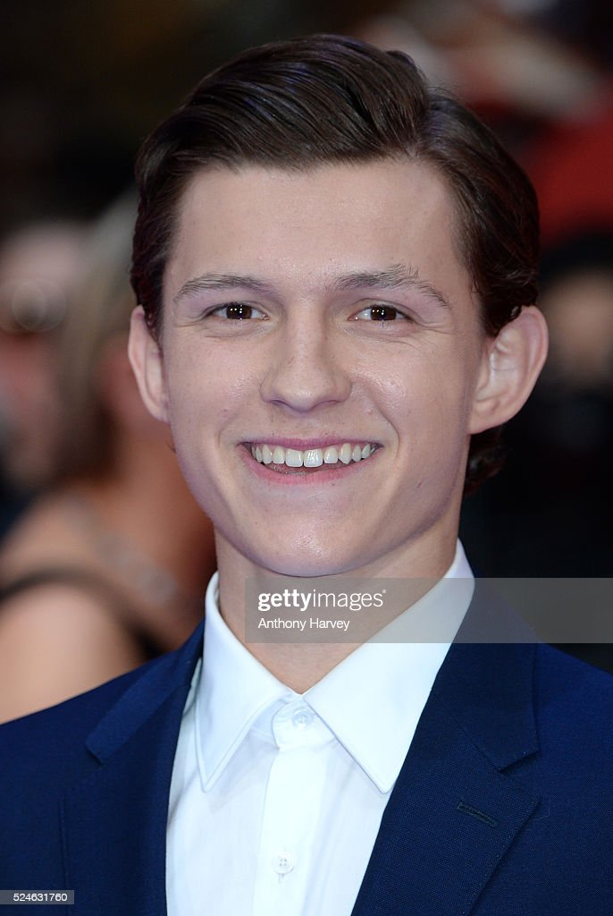 Tom Holland attends the European premiere of 'Captain America: Civil War' at Vue Westfield on April 26, 2016 in London, England
