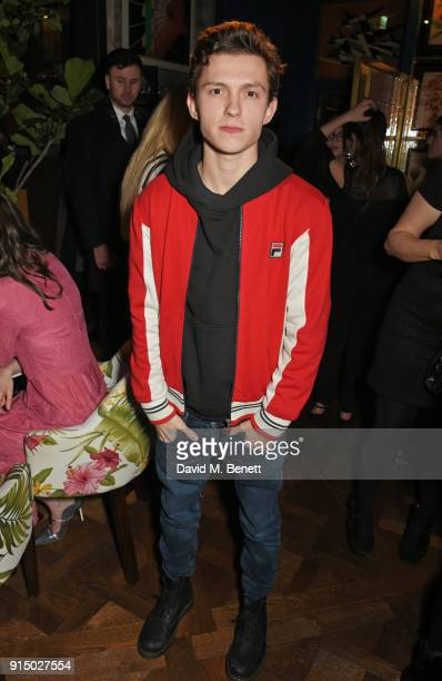 Tom Holland attends the InStyle EE Rising Star Party at Granary Square on February 6 2018 in London England