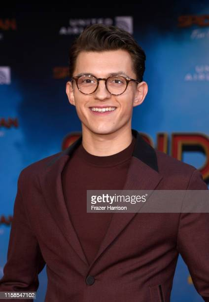 Tom Holland attends the Premiere Of Sony Pictures' SpiderMan Far From Home at TCL Chinese Theatre on June 26 2019 in Hollywood California