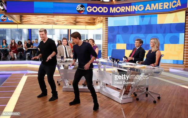AMERICA Tom Holland is a guest on Good Morning America Tuesday June 27 airing on the Walt Disney Television via Getty Images Television Network NICK