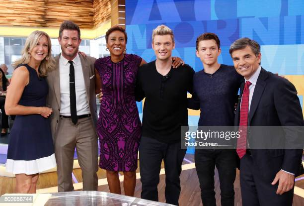 AMERICA Tom Holland is a guest on Good Morning America Tuesday June 27 airing on the Walt Disney Television via Getty Images Television Network LARA