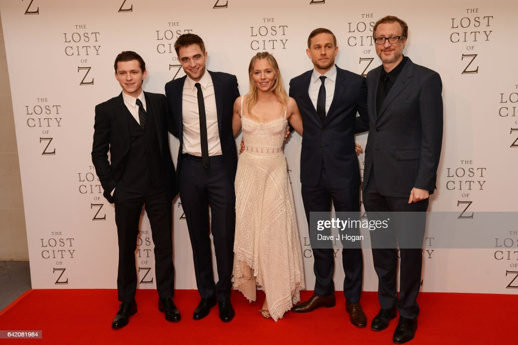 """""""The Lost City of Z"""" - UK Premiere - VIP Arrivals"""