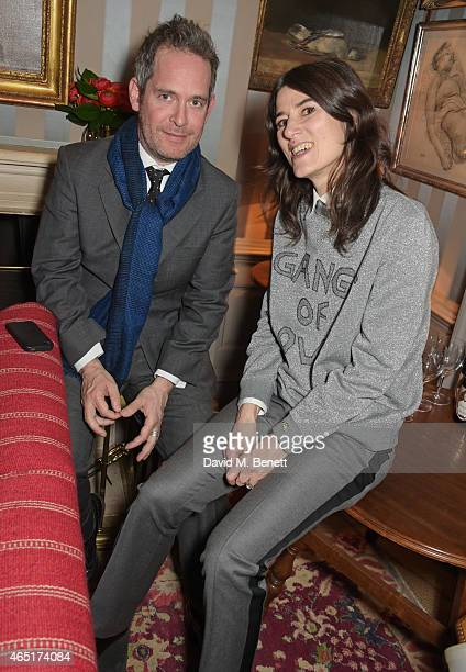 Tom Hollander and Bella Freud attend the premiere of 'A Postcard From Istanbul' directed by John Malkovich in collaboration with St Regis Hotels...