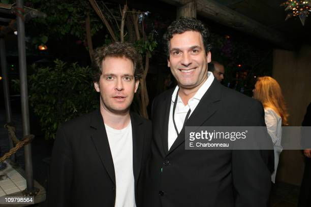Tom Hollander and Disney's Oren Aviv during World Premiere of Walt Disney Pictures' 'Pirates of the Caribbean At World's End' at Disneyland in...