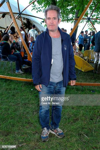 Tom Hollander at the Veuve Clicquot Champagne Bar Wilderness Festival on August 5 2017 in UNSPECIFIED United Kingdom