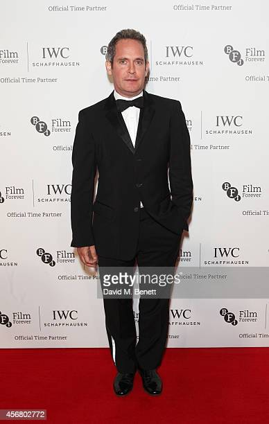 Tom Hollander attends the BFI London Film Festival IWC Gala Dinner in honour of the BFI at Battersea Evolution Marquee on October 7 2014 in London...