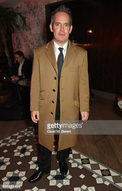 Tom Hollander attends the press night after party for 'Travesties' at 100 Wardour St on February 15 2017 in London England