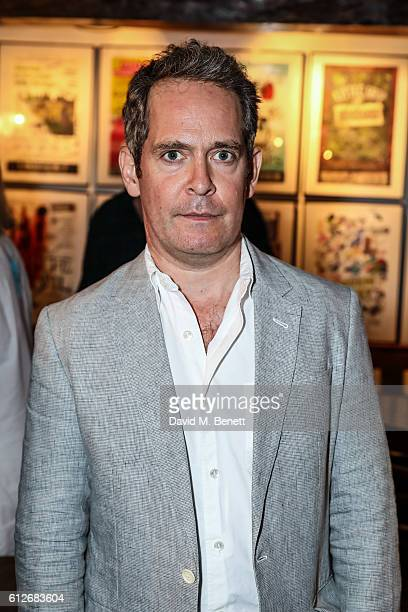 Tom Hollander attends the press night performance of 'Travesties' at Menier Chocolate Factory on October 4 2016 in London England