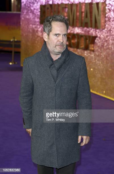 Tom Hollander attends the World Premiere of 'Bohemian Rhapsody' at The SSE Arena Wembley on October 23 2018 in London England