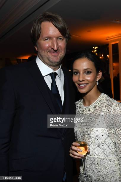 Tom Hooper and Francesca Hayward attend The World Premiere of Cats presented by Universal Pictures on December 16 2019 in New York City
