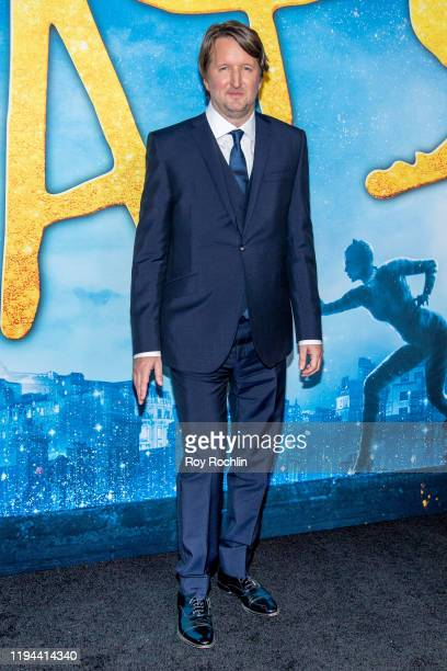 """Tom Hooper attends the """"Cats"""" World Premiere at Alice Tully Hall, Lincoln Center on December 16, 2019 in New York City."""