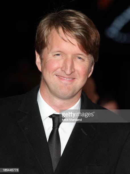 "Tom Hooper attends the Closing Night Gala European Premiere of ""Saving Mr Banks"" during the 57th BFI London Film Festival at Odeon Leicester Square..."