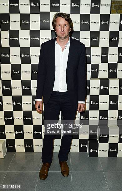 Tom Hooper attends the Serpentine Future Contemporaries x Harrods Party 2016 at The Serpentine Sackler Gallery on February 20 2016 in London England