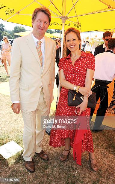 Tom Hooper attends the Veuve Clicquot Gold Cup Final at Cowdray Park Polo Club on July 21 2013 in Midhurst England