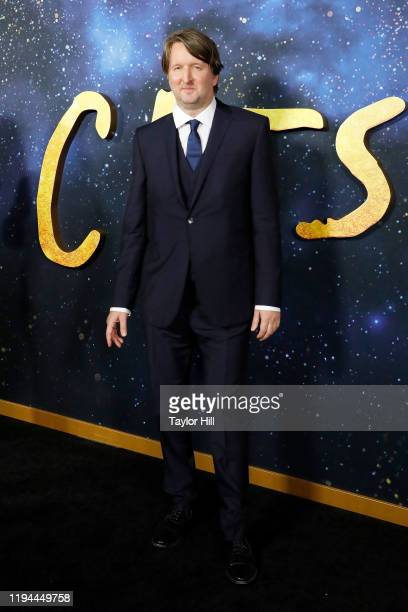 Tom Hooper attends the world premiere of Cats at Alice Tully Hall Lincoln Center on December 16 2019 in New York City