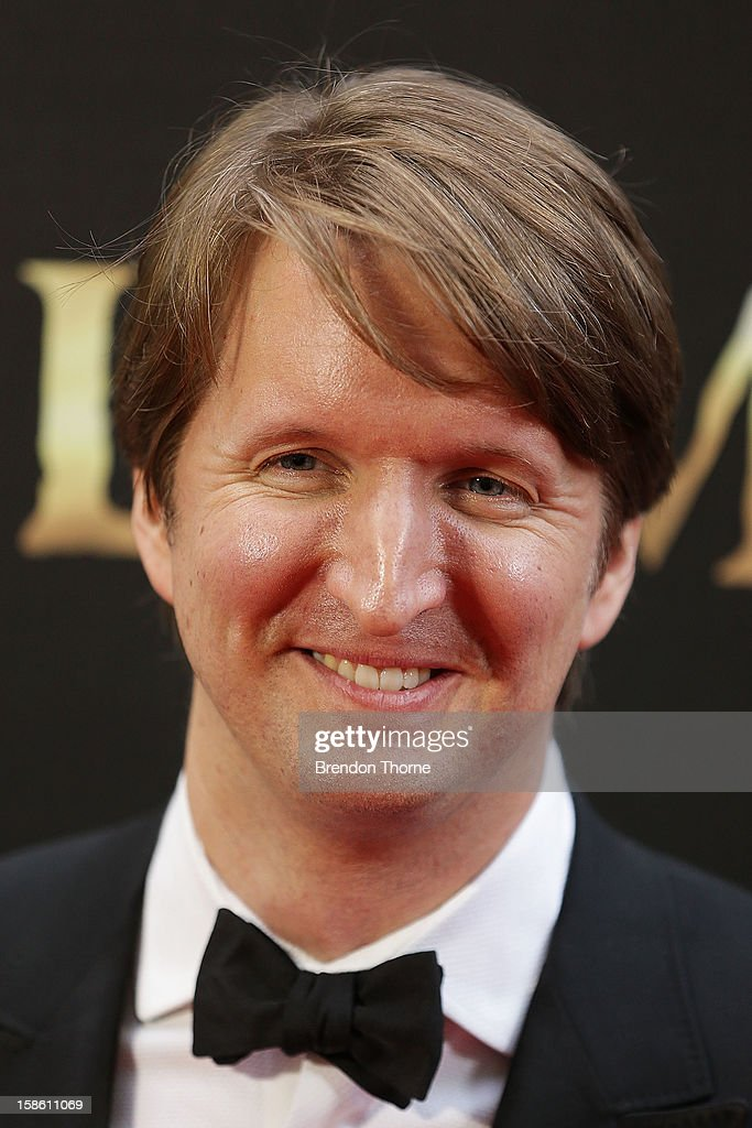 Tom Hooper walks the red carpet during the Australian premiere of 'Les Miserables' at the State Theatre on December 21, 2012 in Sydney, Australia.