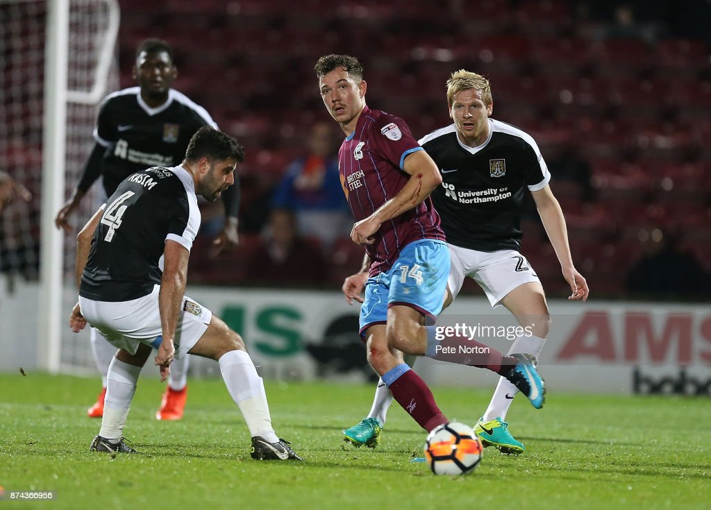 Scunthorpe United v Northampton Town - Emirates FA Cup First Round Replay