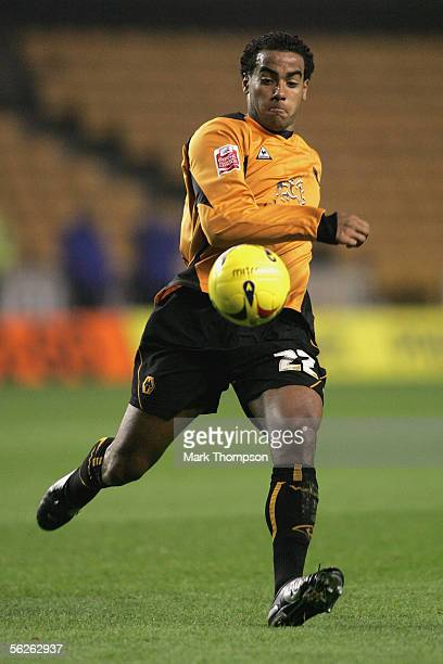 Tom Huddlestone of Wolverhampton Wanderers runs for the ball during the CocaCola Championship match between Wolverhampton Wanderers and Sheffield...