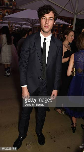 Tom Hughes attends the 2016 VA Summer Party In Partnership with Harrods at The VA on June 22 2016 in London England