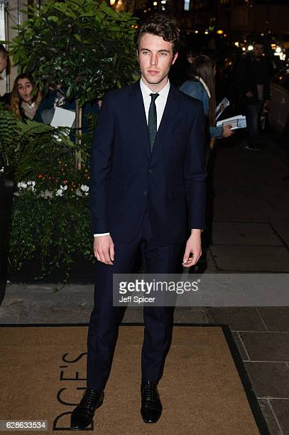Tom Hughes attends the Evening Standard Film Awards at Claridge's Hotel on December 8 2016 in London United Kingdom