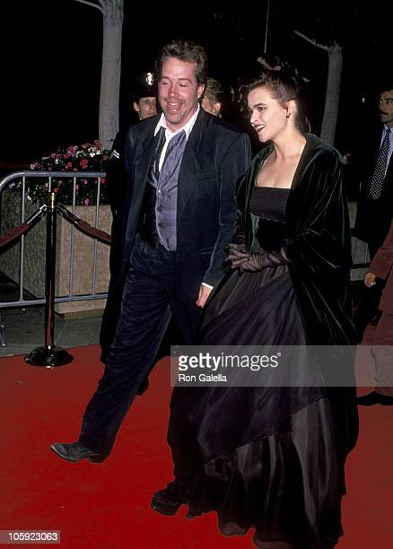 Tom Hulce and Helena Bonham Carter during 'Mary Shelly's Frankenstein' Los Angeles Premiere at Cineplex Odeon Theatre in Century City California...