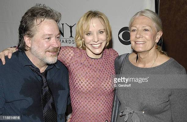 Tom Hulce Charlotte d'Amboise and Vanessa Redgrave