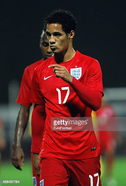 Tom Ince of England after the UEFA U21 Championship Playoff Second Leg match between Croatia and England at the Stadion Hnk Cibalia on October 14...