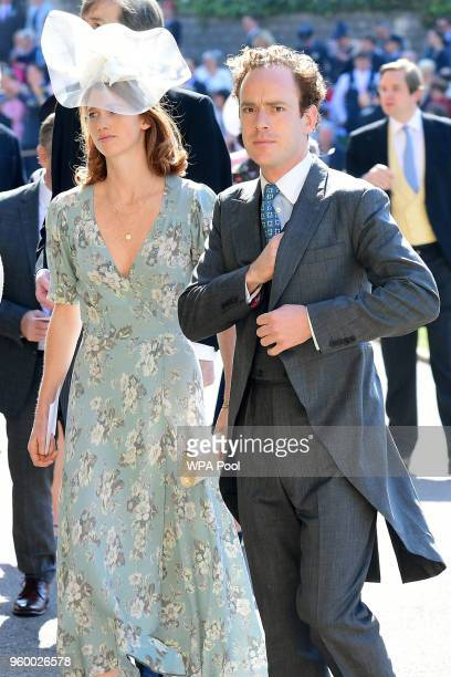 Tom Inskip arrives at St George's Chapel at Windsor Castle before the wedding of Prince Harry to Meghan Markle on May 19 2018 in Windsor England
