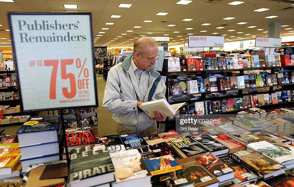 Barnes & Noble Beats Expectations With 6.3 Percent Q4 Profit Rise : News Photo