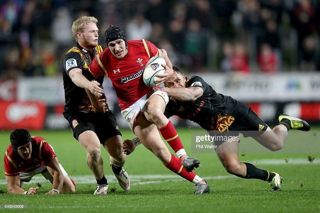 Chiefs v Wales : News Photo