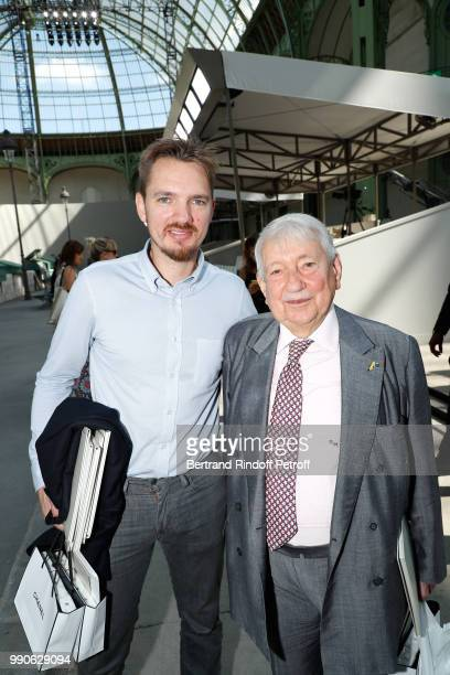 Tom Jardin and Raymond Massaro attend the Chanel Haute Couture Fall Winter 2018/2019 show as part of Paris Fashion Week on July 3 2018 in Paris France