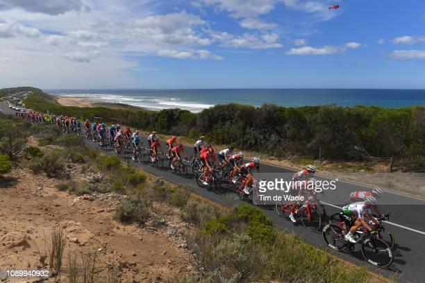 Tom Jelte Slagter of The Netherlands and Team Dimension Data / Michael Valgren Andersen of Denmark and Team Dimension Data / Thirteenth Beach Road /...