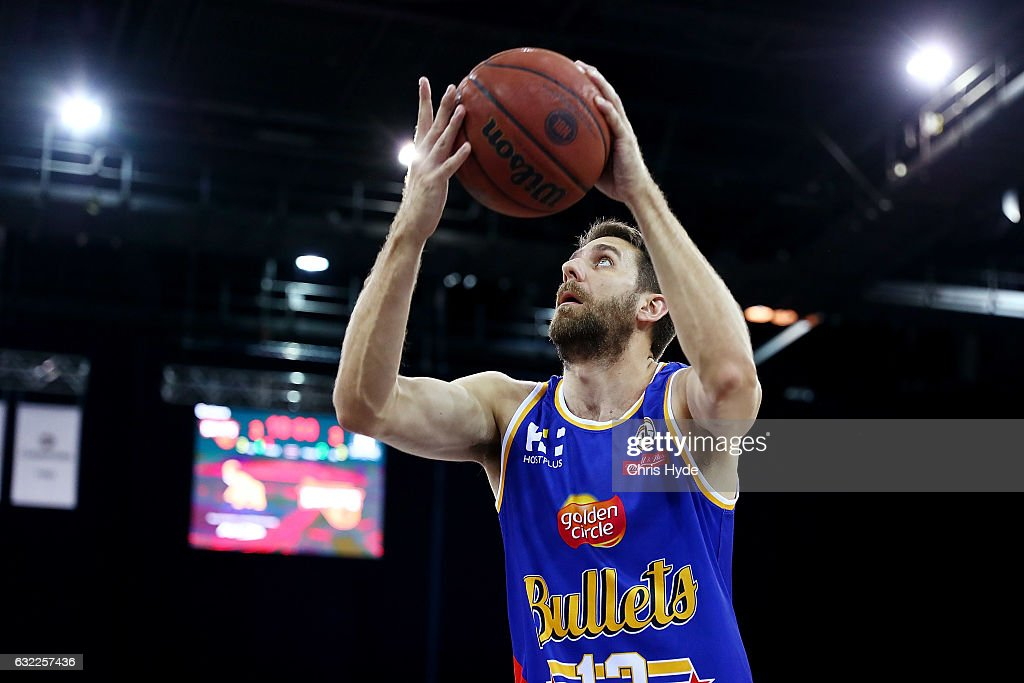 NBL Rd 16 - Brisbane v Melbourne : News Photo