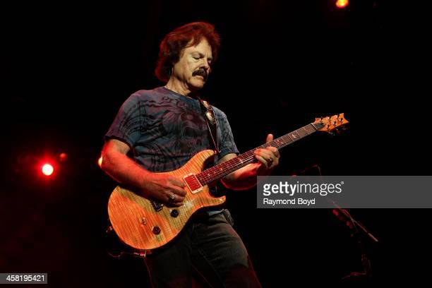 Tom Johnston of the Doobie Brothers performs on the Briggs Stratton Big Backyard Stage at the Henry W Maier Festival Park during the HarleyDavidson...