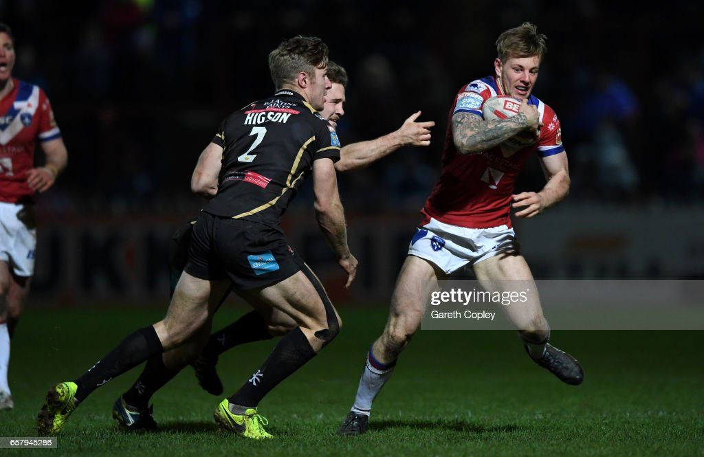 Wakefield Trinity v Leigh Centurions - Betfred Super League : News Photo