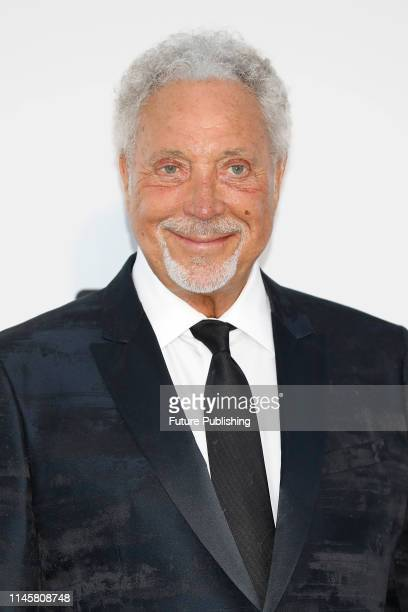 Tom Jones at the amfAR Cannes Gala 2019 at Hotel du CapEdenRoc on May 23 2019 in Cap d'Antibes France