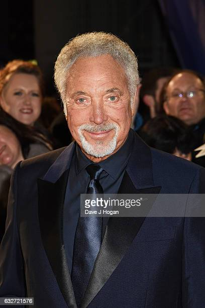 Tom Jones attends the National Television Awards at Cineworld 02 Arena on January 25 2017 in London England