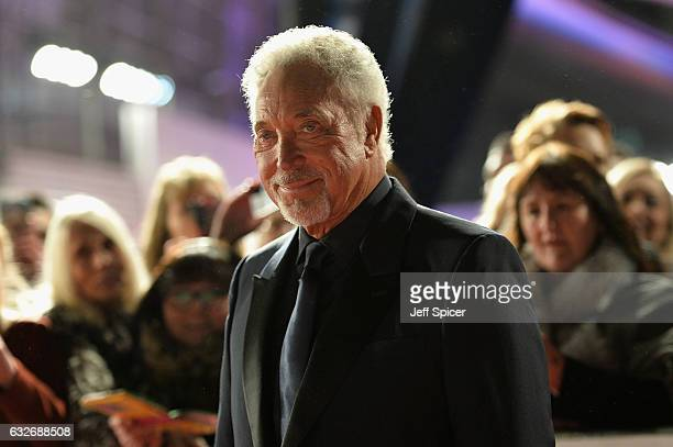Tom Jones attends the National Television Awards on January 25 2017 in London United Kingdom